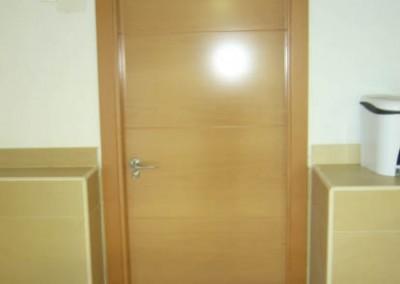 Instalacion puertas de madera