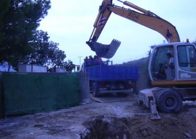Excavaciones con maquinaria pesada