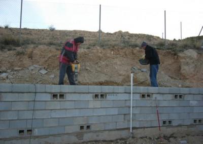 Instalación de vallados
